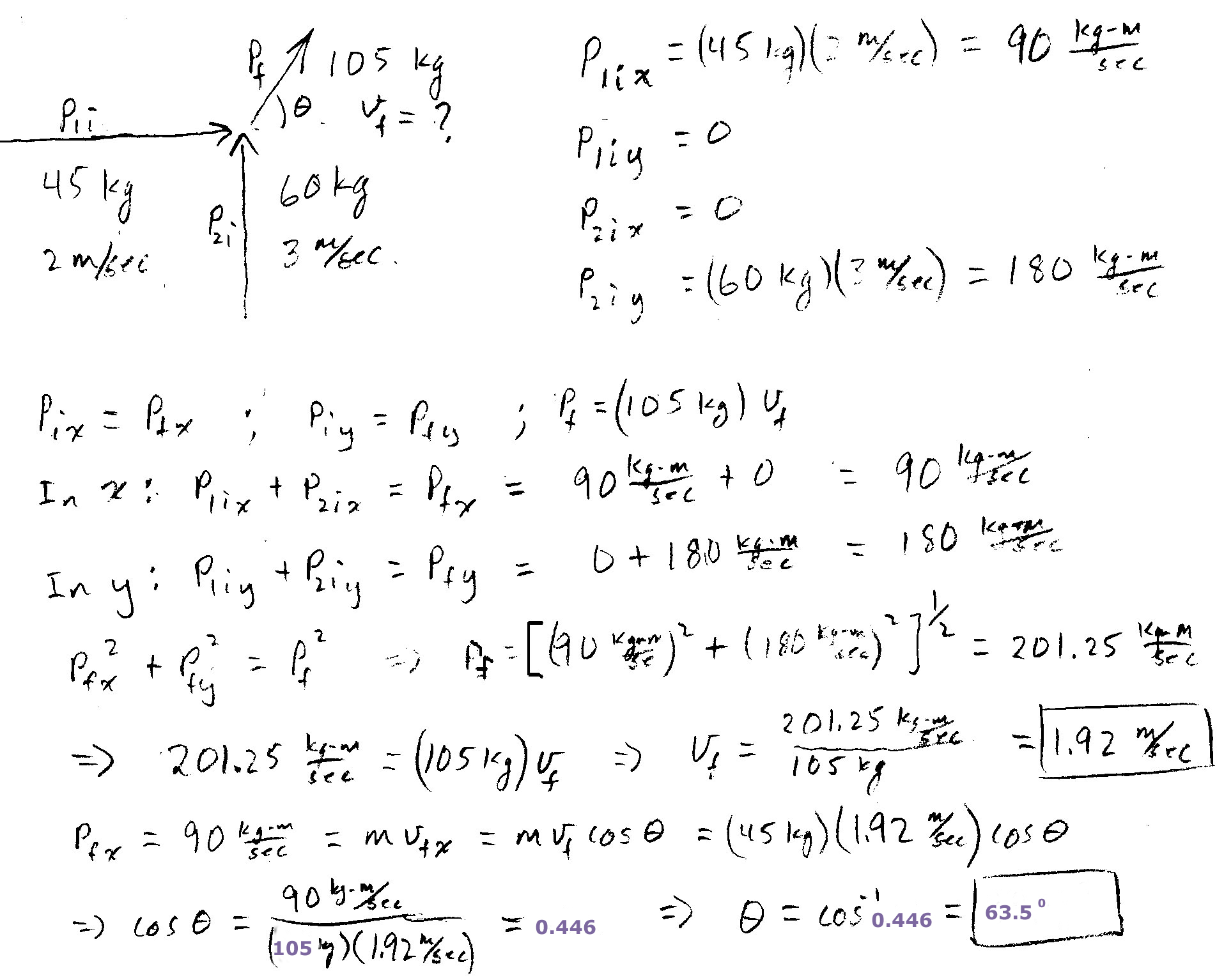 Physics I Homework With Answers Answer 2 All Forces Are Balanced For A Net Force Of Zero